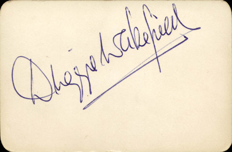Image 1 for Duggie Wakefield - Autograph - HFSID 146771