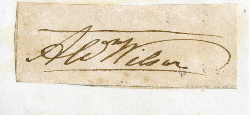 Image 1 for Alexander Wilson - Autograph - HFSID 146883