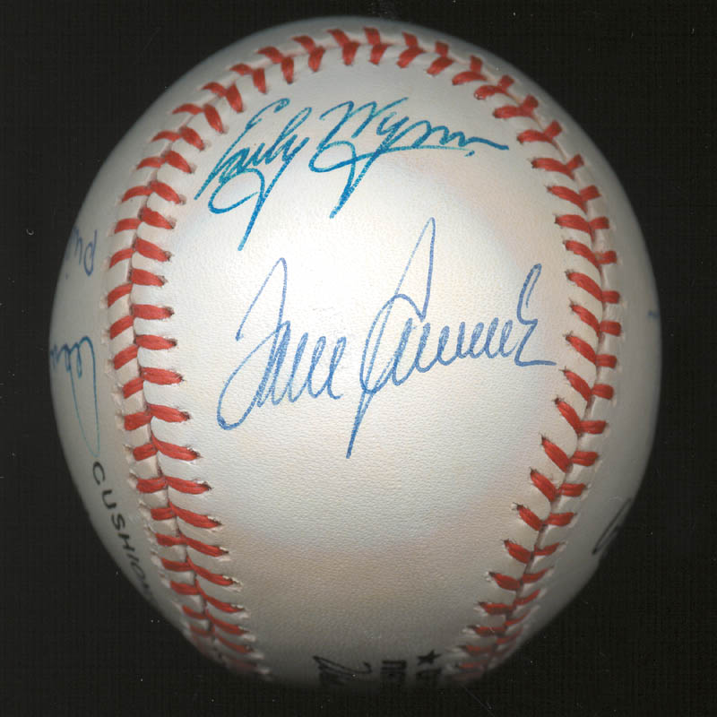 Image 6 for 300+ Career Wins - Autographed Signed Baseball with co-signers - HFSID 146952