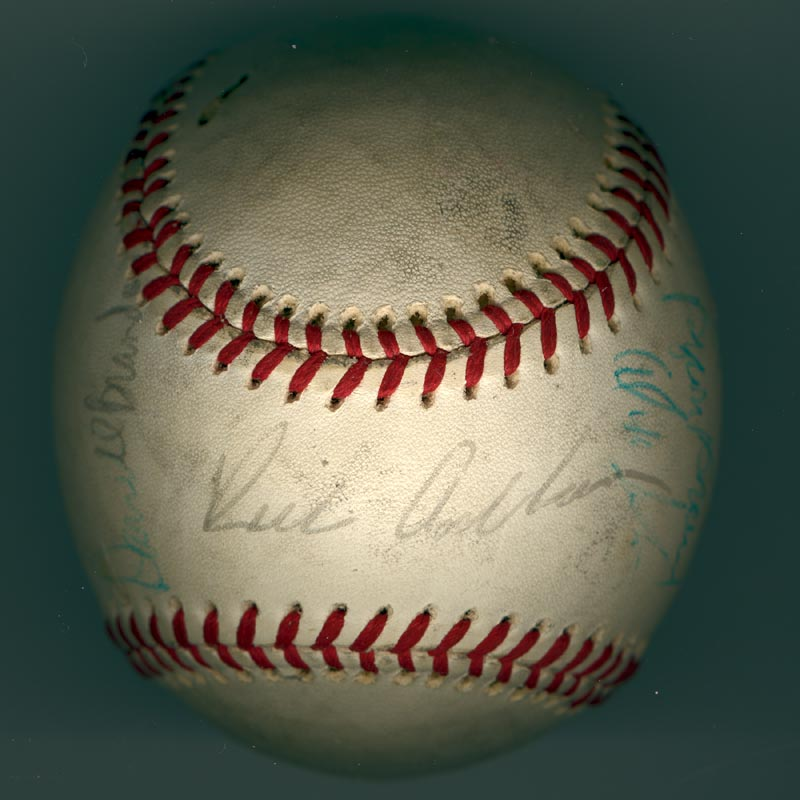 Image 1 for The Philadelphia Phillies - Autographed Signed Baseball Circa 1971 with co-signers - HFSID 147328
