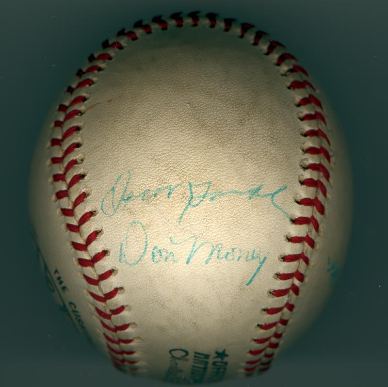 Image 5 for The Philadelphia Phillies - Autographed Signed Baseball Circa 1971 with co-signers - HFSID 147328