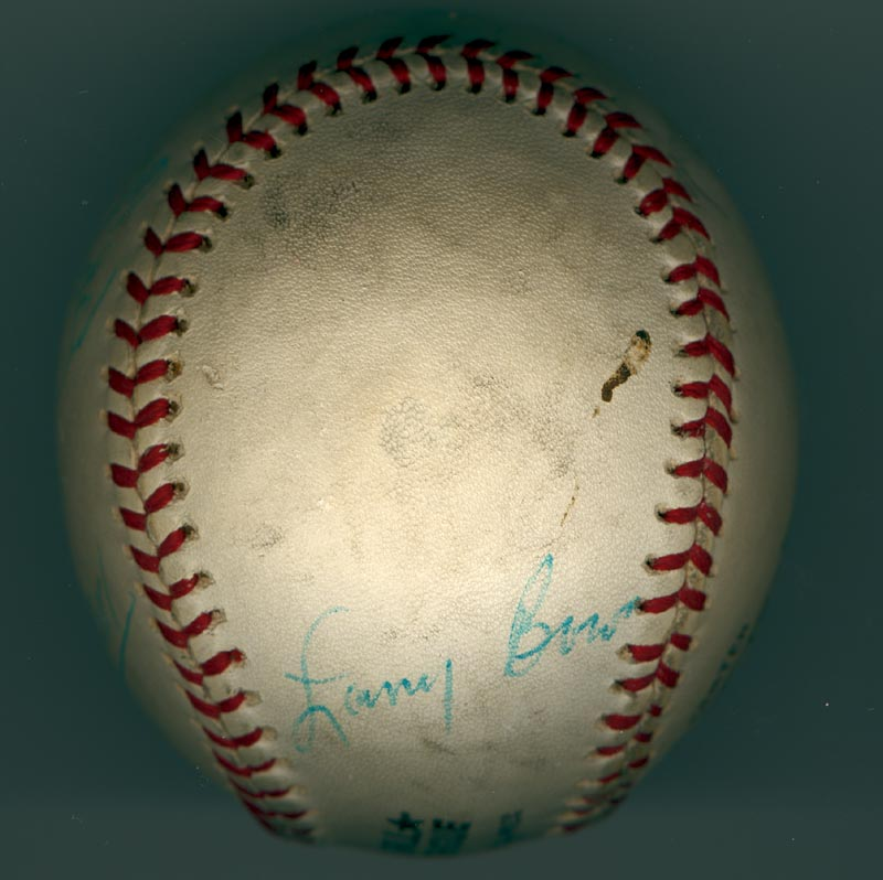 Image 6 for The Philadelphia Phillies - Autographed Signed Baseball Circa 1971 with co-signers - HFSID 147328