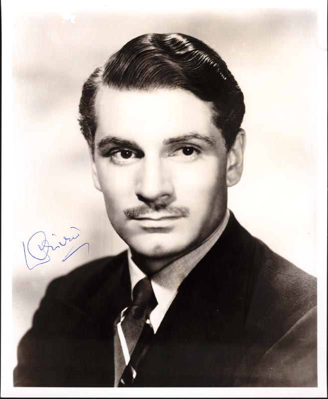 Image 1 for Laurence Olivier - Autographed Signed Photograph - HFSID 147396