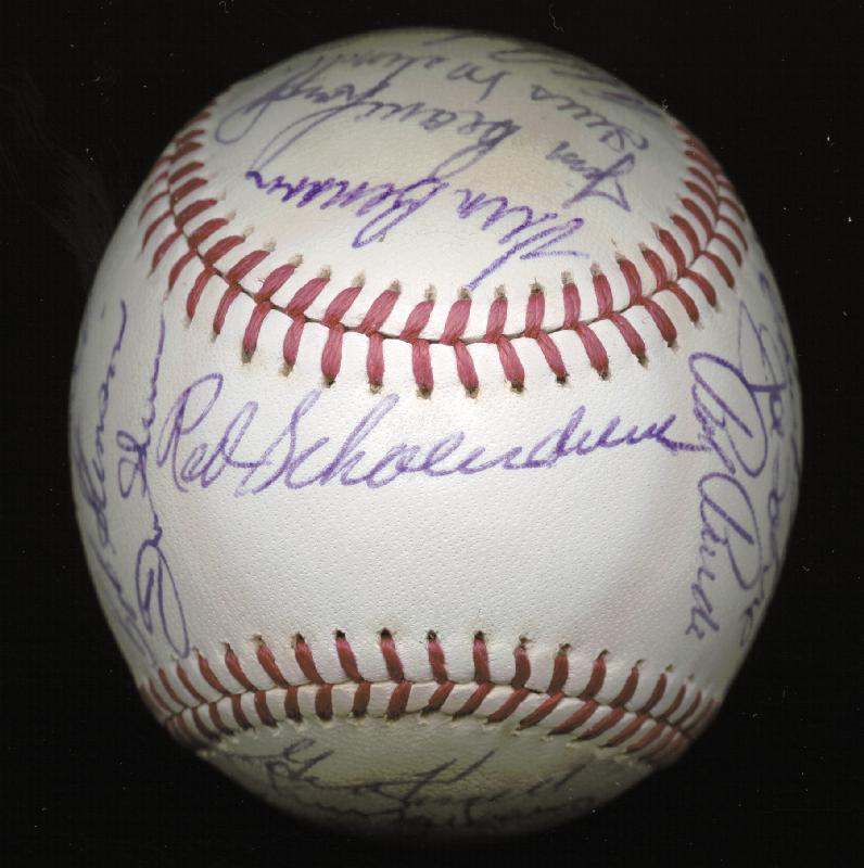Image 3 for The St. Louis Cardinals - Autographed Signed Baseball Circa 1971 with co-signers - HFSID 147731