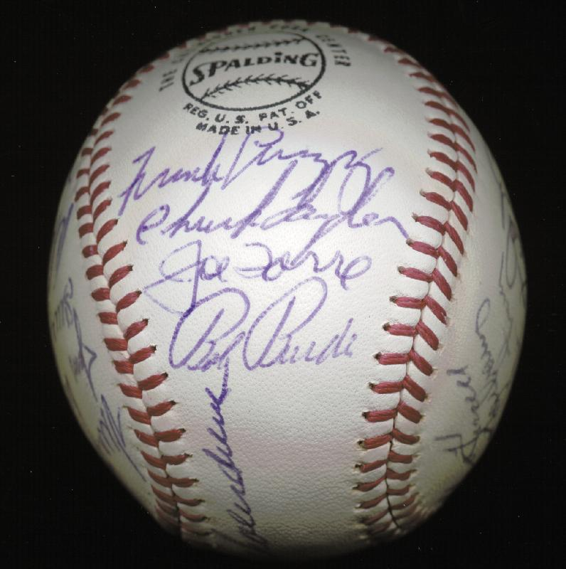Image 4 for The St. Louis Cardinals - Autographed Signed Baseball Circa 1971 with co-signers - HFSID 147731