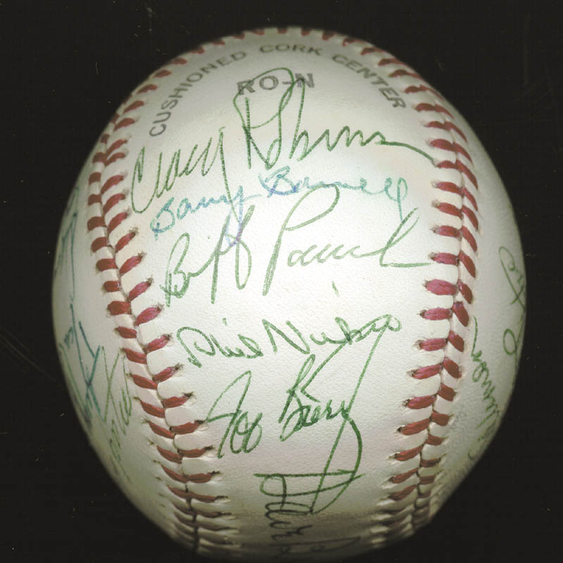 Image 3 for The Atlanta Braves - Autographed Signed Baseball Circa 1977 with co-signers - HFSID 147733