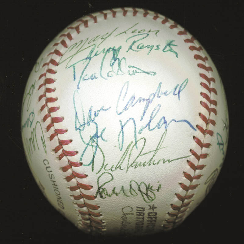 Image 5 for The Atlanta Braves - Autographed Signed Baseball Circa 1977 with co-signers - HFSID 147733