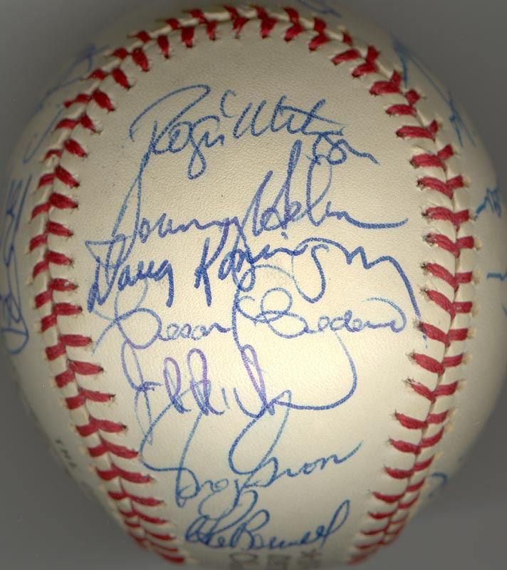 Image 4 for The Houston Astros - Autographed Signed Baseball Circa 1975 with co-signers - HFSID 147748