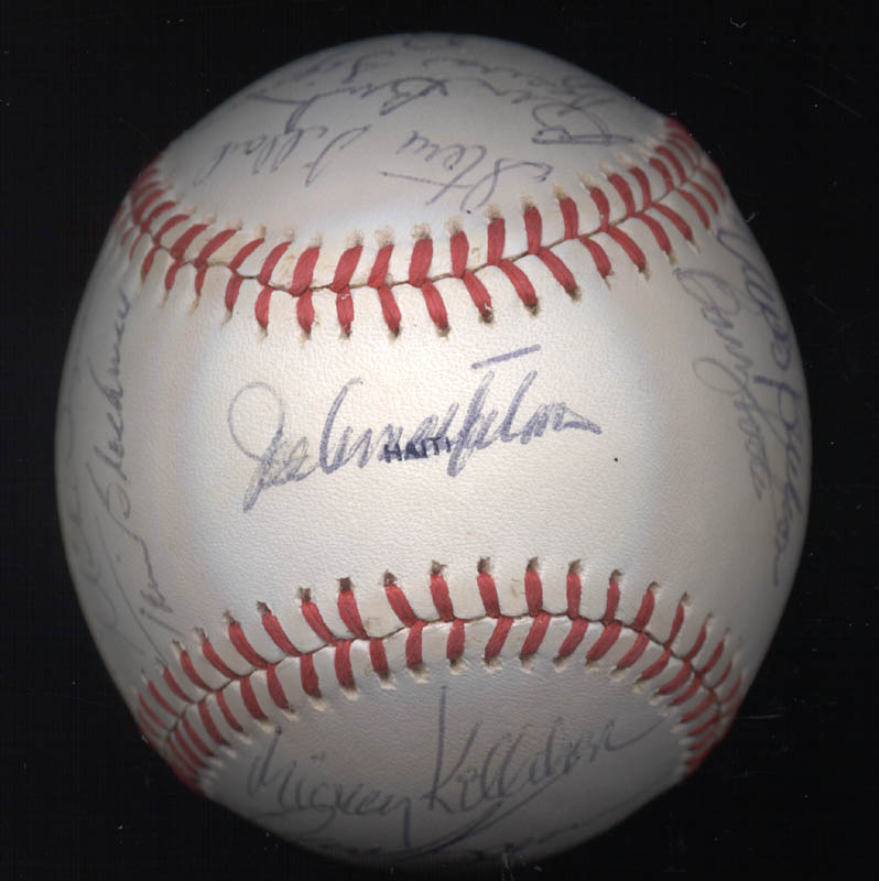 Image 1 for The Chicago Cubs - Autographed Signed Baseball with co-signers - HFSID 147751