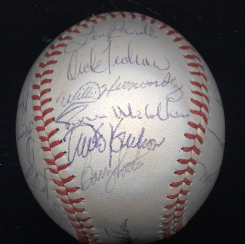 Image 3 for The Chicago Cubs - Autographed Signed Baseball with co-signers - HFSID 147751