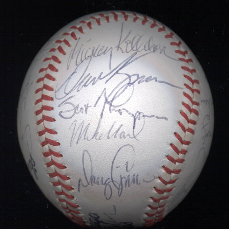 Image 5 for The Chicago Cubs - Autographed Signed Baseball with co-signers - HFSID 147751