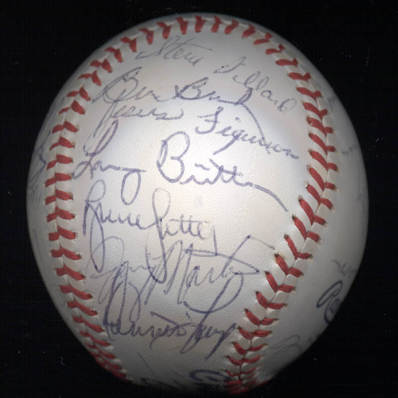 Image 6 for The Chicago Cubs - Autographed Signed Baseball with co-signers - HFSID 147751