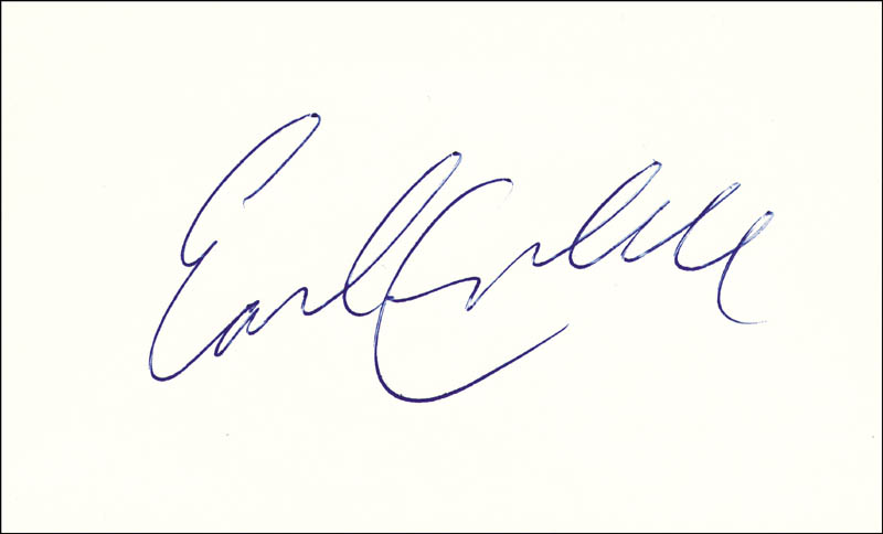 brand new c4ca1 ce5a6 Earl Campbell - Autograph | HistoryForSale Item 147766