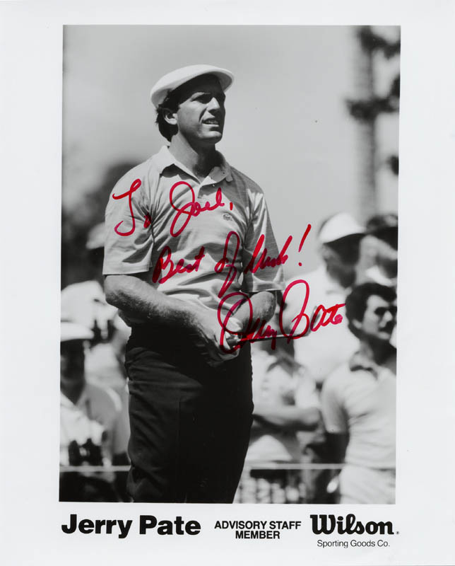 Image 1 for Jerry Pate - Autographed Inscribed Photograph - HFSID 147775
