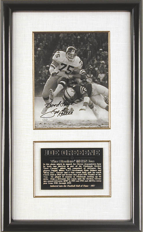 Image 1 for Joe 'Mean Joe' Greene - Autographed Signed Photograph - HFSID 147867