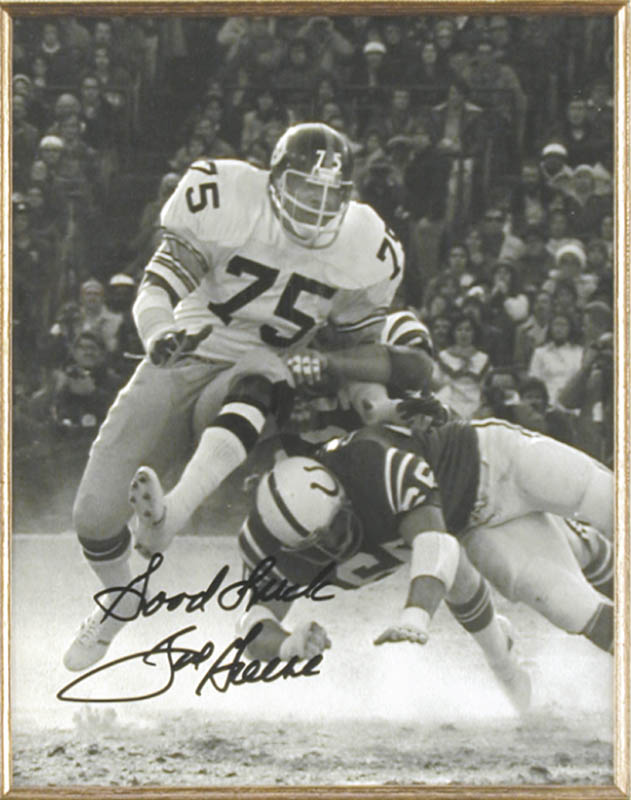 Image 3 for Joe 'Mean Joe' Greene - Autographed Signed Photograph - HFSID 147867