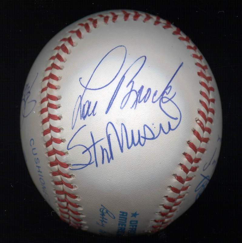 Image 5 for 3000+ Career Hits - Autographed Signed Baseball with co-signers - HFSID 148785