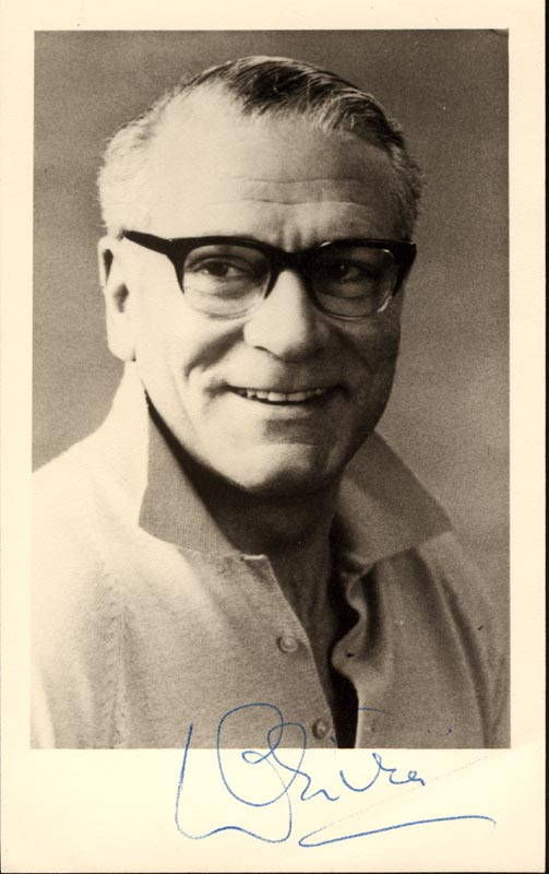 Image 1 for Laurence Olivier - Autographed Signed Photograph - HFSID 149169