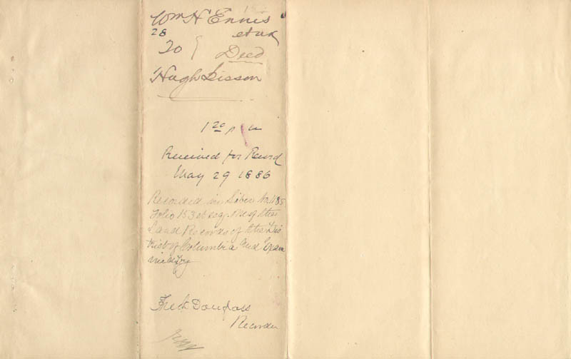 Image 1 for Frederick Douglass - Deed Signed 05/29/1886 - HFSID 150655