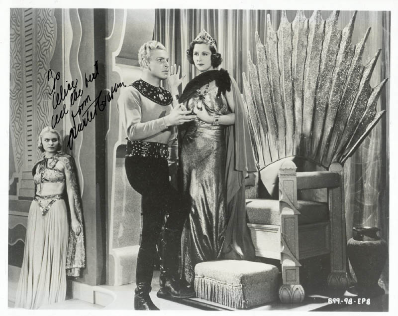 Image 1 for Buster Crabbe - Autographed Inscribed Photograph - HFSID 1523