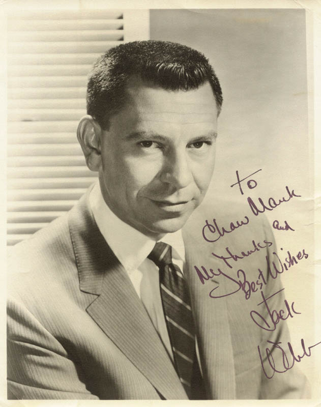Image 1 for Jack Webb - Autographed Inscribed Photograph - HFSID 152486