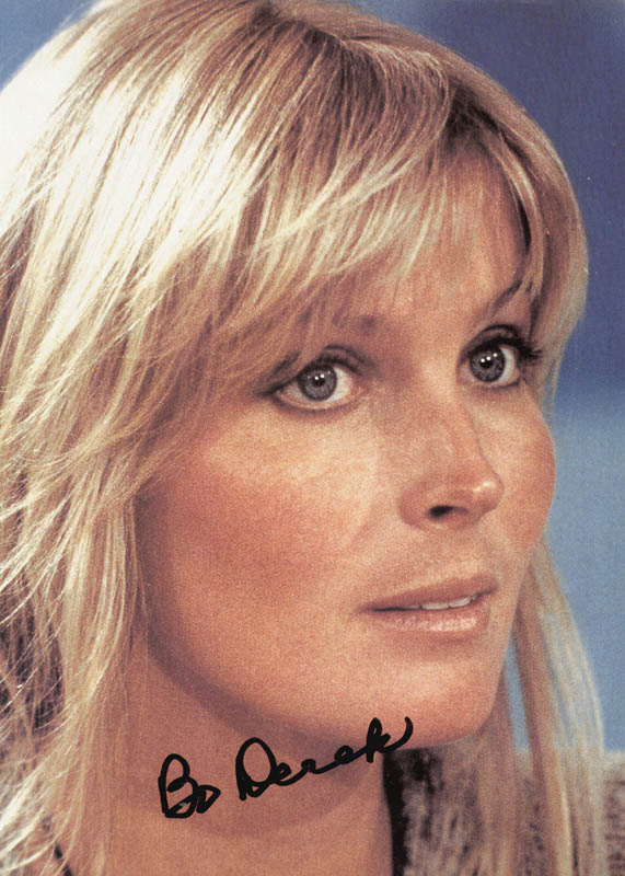 Image 1 for Bo Derek - Autographed Signed Photograph - HFSID 152516