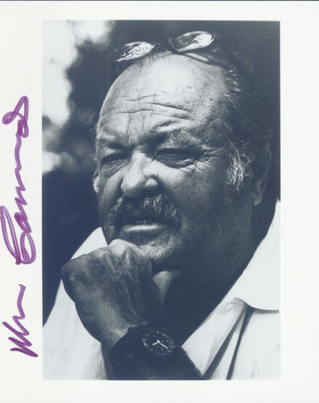 Image 1 for William Conrad - Autographed Signed Photograph - HFSID 152538