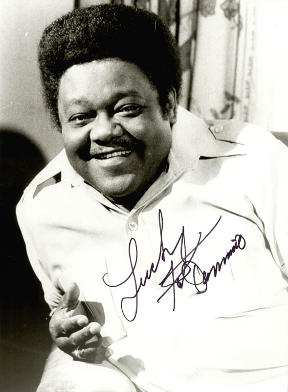Image 1 for Fats Domino - Autographed Signed Photograph - HFSID 152685