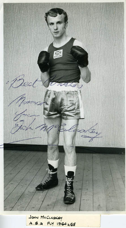 Image 1 for John Mccluskey - Autographed Signed Photograph - HFSID 152739