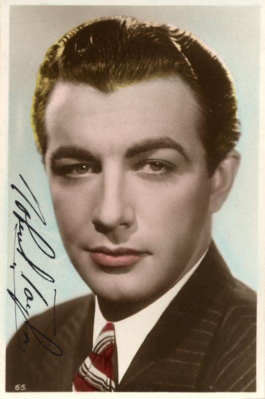 Image 1 for Robert Taylor - Autographed Signed Photograph - HFSID 152757