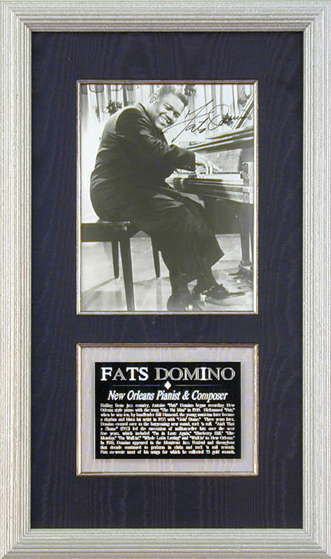Image 1 for Fats Domino - Autographed Signed Photograph - HFSID 153379