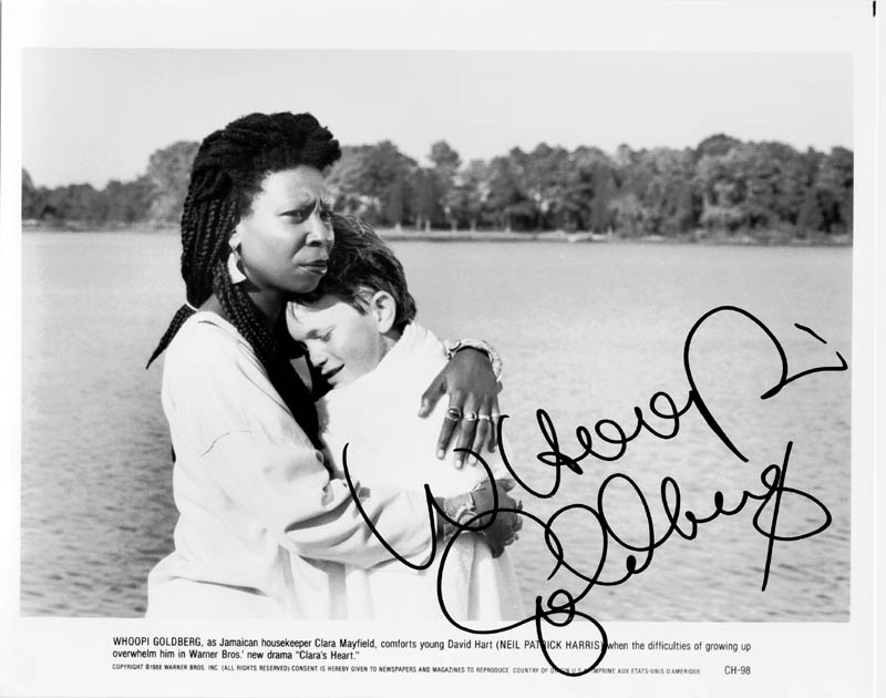 Image 1 for Whoopi Goldberg - Autographed Signed Photograph - HFSID 153381