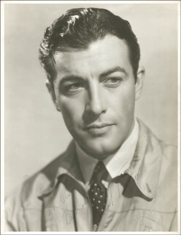 Image 1 for Robert Taylor - Autographed Inscribed Photograph - HFSID 153910