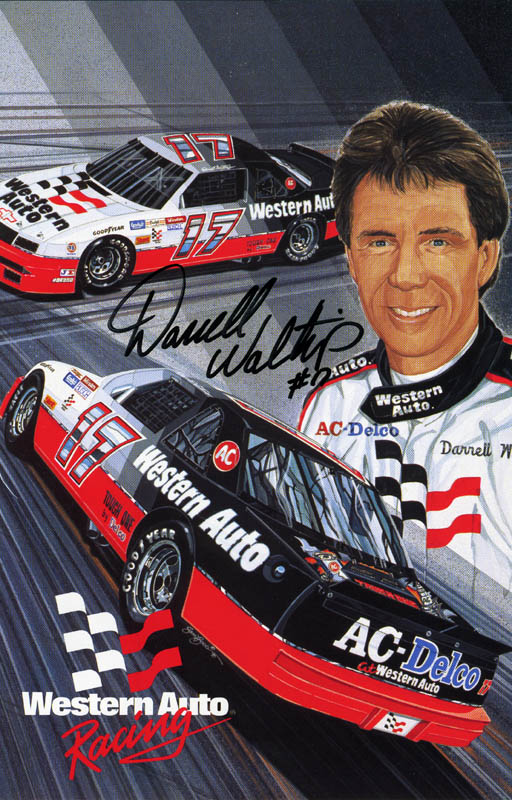 Image 1 for Darrell L. Waltrip - Autographed Signed Photograph - HFSID 153984