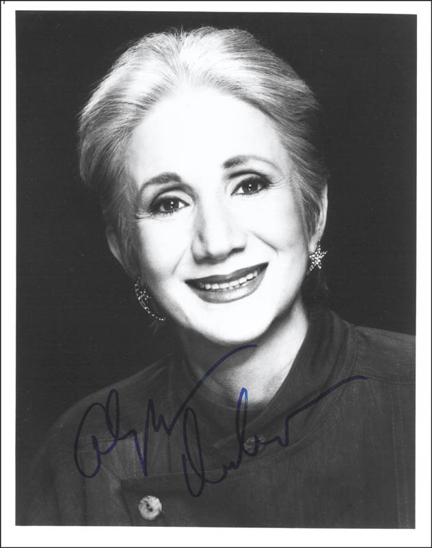 Image 1 for Olympia Dukakis - Autographed Signed Photograph - HFSID 154151