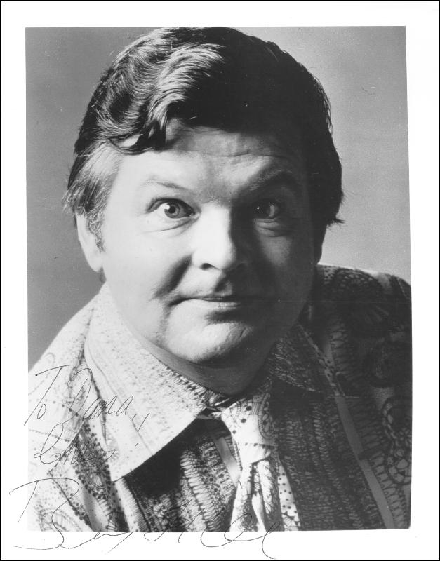 Image 1 for Benny Hill - Autographed Inscribed Photograph - HFSID 154158