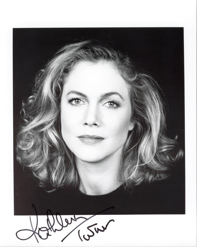 Image 1 for Kathleen Turner - Autographed Signed Photograph - HFSID 154160