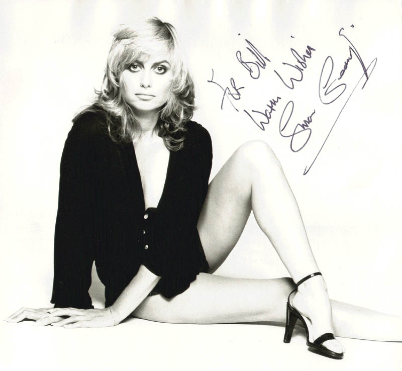 Image 1 for Susan George - Autographed Inscribed Photograph - HFSID 154302