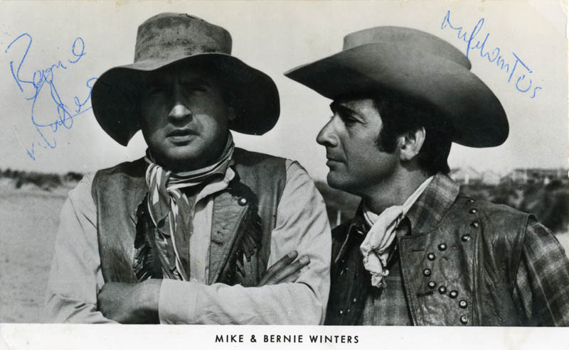 Image 1 for Mike Winters - Autographed Signed Photograph co-signed by: Bernie Winters - HFSID 154330