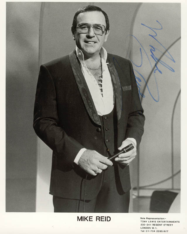 Image 1 for Mike Reid - Autographed Signed Photograph - HFSID 154461