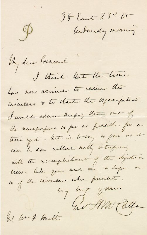 Image 1 for Major General George B. Mcclellan - Autograph Letter Signed - HFSID 154926