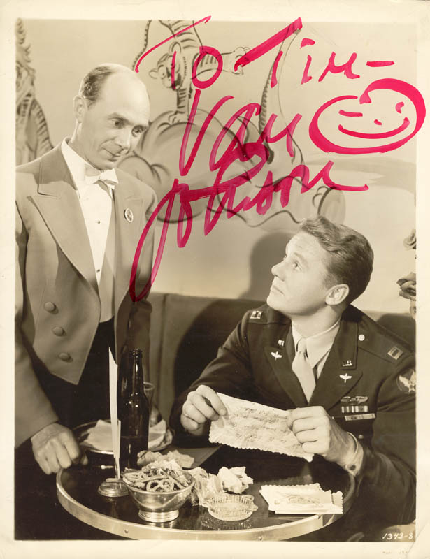 Image 1 for Van Johnson - Autographed Inscribed Photograph - HFSID 155165