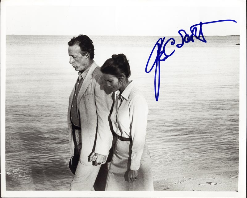 Image 1 for George C. Scott - Autographed Signed Photograph - HFSID 155166