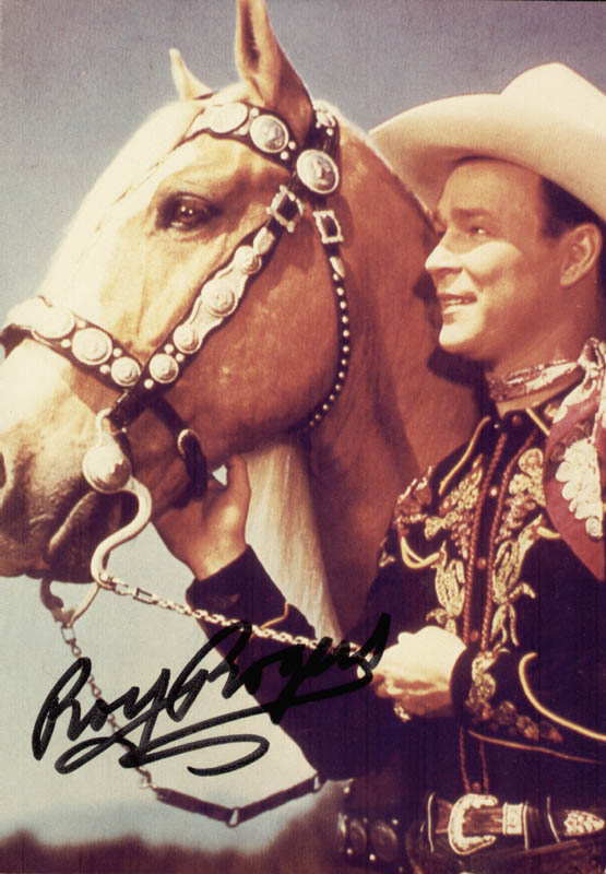 Image 1 for Roy Rogers - Autographed Signed Photograph - HFSID 155376