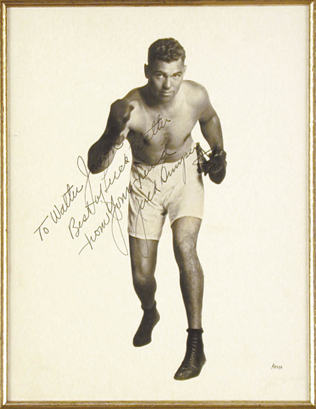 Image 3 for Jack Dempsey - Autographed Inscribed Photograph - HFSID 155602