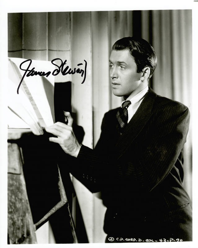 Image 1 for James 'Jimmy' Stewart - Autographed Signed Photograph - HFSID 155680