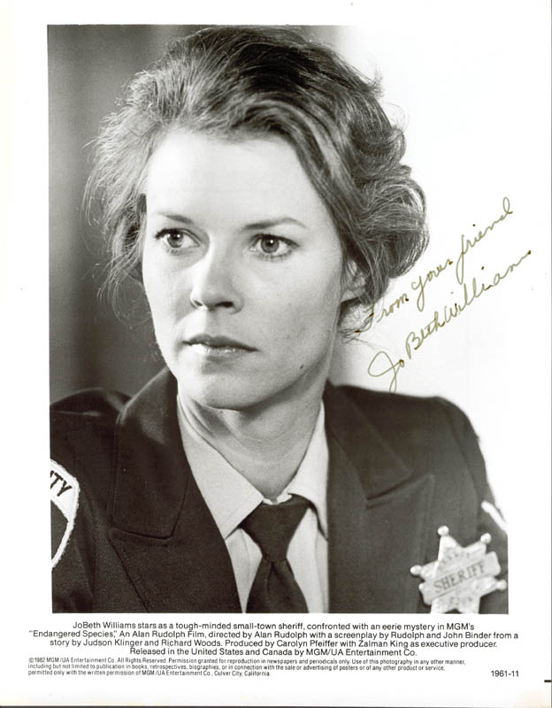 Image 1 for Jobeth Williams - Autographed Signed Photograph - HFSID 156090
