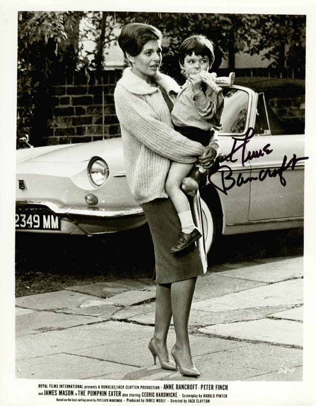 Image 1 for Anne Bancroft - Autographed Signed Photograph - HFSID 156091