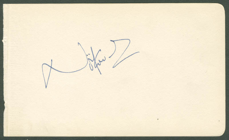 Image 1 for Sir Noel Coward - Autograph - HFSID 156101