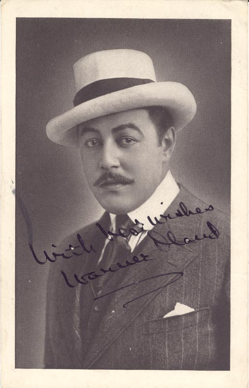 Image 1 for Warner Oland - Autographed Signed Photograph - HFSID 156116